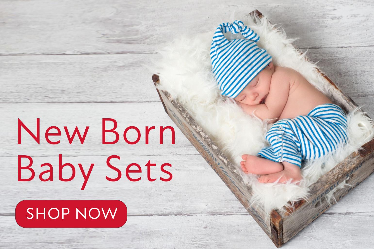 New Born Baby Sets